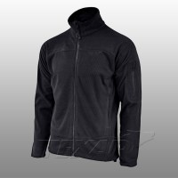 TEXAR - Fleece jacket CONGER - Black