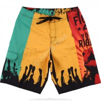 Шорты Liquid Blue - Fight 4 Your Rights Rasta Board Shorts