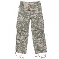 Rothco - Womens Camo Vintage Paratrooper Fatigue Pants - ACU Digital