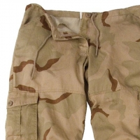 Rothco - Womens Camo Vintage Paratrooper Fatigue Pants - Tri-Color Desert