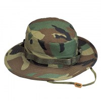 Rothco - Boonie Hat Rip Stop Woodland Camo