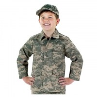 Rothco - Kids Digital Camo BDU Shirt