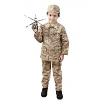 Rothco - Kids Desert Digital Camo BDU Shirt