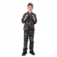 Rothco - Kids Subdued Urban Digital Camo BDU Shirt