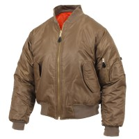 Rothco - MA-1 Flight Jacket - Coyote Brown
