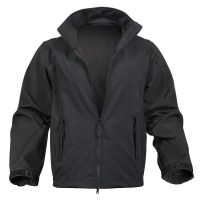 Rothco - Soft Shell Uniform Jacket - Black