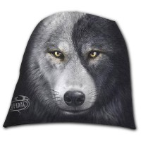 Spiral Direct - WOLF CHI - Light Cotton Beanies Black
