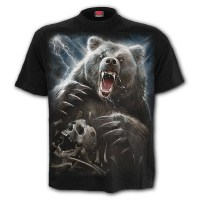 Spiral Direct - BEAR CLAWS - T-Shirt Black