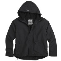 Surplus - Zipper Windbreaker - Black