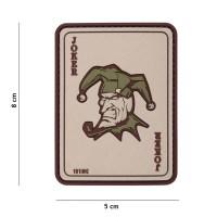101 inc - Patch 3D PVC Joker coyote