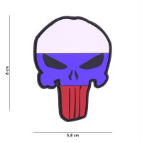 101 inc - Patch 3D PVC Punisher Russia