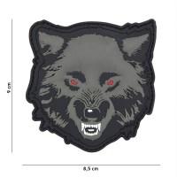 101 inc - Patch 3D PVC Wolf grey