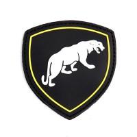 101 inc - Patch 3D PVC Russian puma black