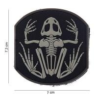 101 inc - Patch 3d PVC Frog skeleton