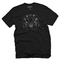Fifty5 Clothing - Cobra Mens T Shirt - Black