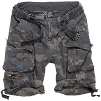 Brandit - Savage Vintage Shorts - Dark Camo