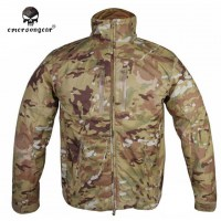 Emerson - SoftShell Windbreaker Jacket - Multicam