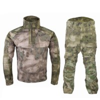 Emerson - Riot Style CAMO Tactical Uniform Set - A-tacs FG