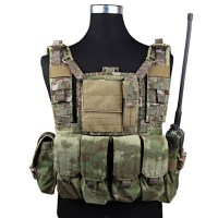 Emerson - RRV Tactical Vest W/Pouchs Set - A-tacs FG
