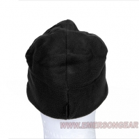 Emerson - Fleece Velcro Watch Cap - Black