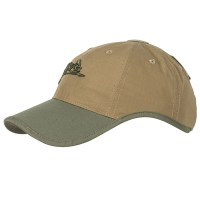 Helikon-Tex - Logo Cap - PolyCotton Ripstop - Coyote/Olive Green A