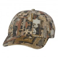 Kati - Unstructured Oilfield Camo Cap