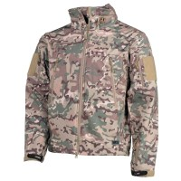 Max Fuchs - Soft Shell Jacket Scorpion - operation camo