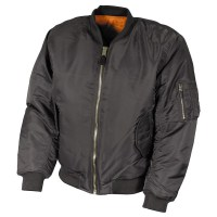 Max Fuchs - US Flight Jacket MA1 - Urban Grey
