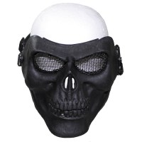 Max Fuchs - Face Mask skull deco - Black