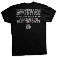 Ranger Up - Hoist the Black Flag Ultra-Thin Vintage T-Shirt