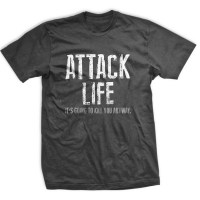 Ranger Up - Attack Life Normal-Fit T-Shirt