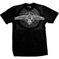 Ranger Up - Black Raven Viking Athletic-Fit T-Shirt