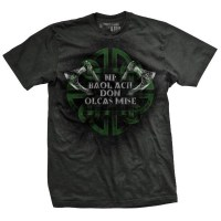Ranger Up - Gaelic Only Evil Athletic-Fit T-Shirt