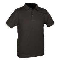 Sturm - Black Tactical Polo Shirt Quickdry