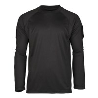 Sturm - Black Tactical Long Sleeve Shirt Quickdry