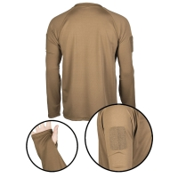 Sturm - Dark Coyote Tactical Long Sleeve Shirt Quickdry
