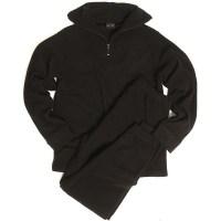 Sturm - Black Thermofleece Underwear With Zipper