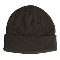 Sturm - Black Fine Knitwear Acrylic Watch Cap