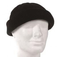 Sturm - Black Round Cap
