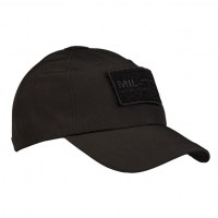 Sturm - Black Softshell Baseball Cap