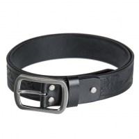 Sturm - Black Leather Belt Western