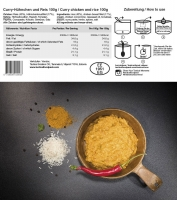 Sturm - Tactical Foodpack Curry Chicken And Rice