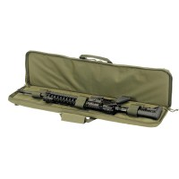 Voodoo Tactical - 15-0170 37'' Single Rifle Padded Weapons Case - OD Green