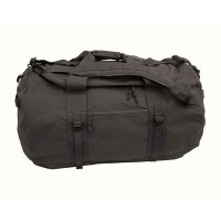 Voodoo Tactical - Mammoth Deployment Bag with Backpack Straps - Black