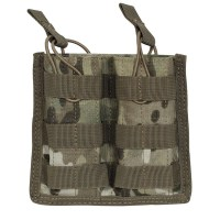 Voodoo Tactical - M4/M16 Open Top Mag Pouch w/ Bungee System Double - Multicam