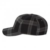 Flexfit - Tartan Plaid Cap - Black/ Grey