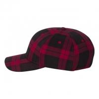 Flexfit - Tartan Plaid Cap - Black/ Red