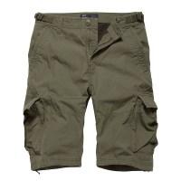 Vintage Industries - Terrance shorts - Olive Sage