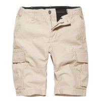 Vintage Industries - Kirby shorts - Stone