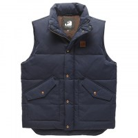 Vintage Industries - Newbury bodywarmer - Bright Navy